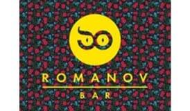 логотип romanov bar